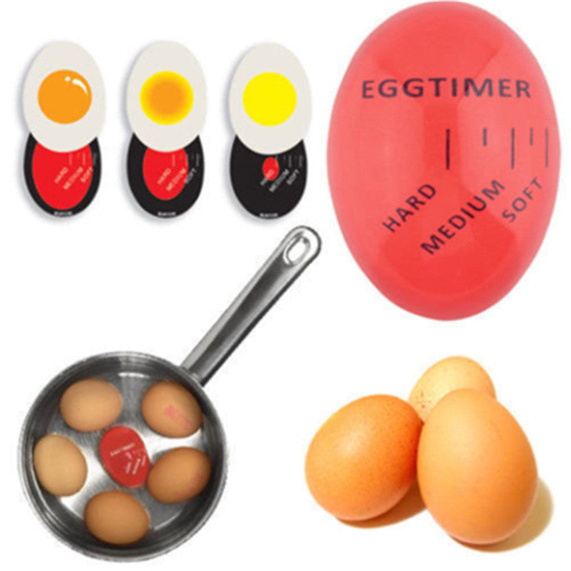 1Pcs Egg Perfect Color Changing Timer
