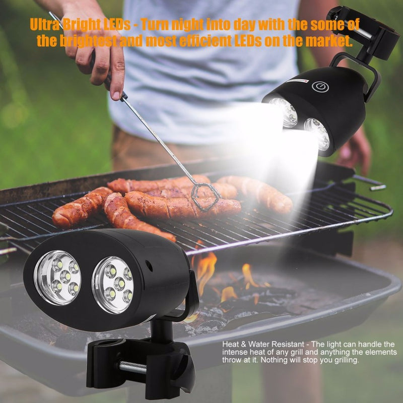 Practical 10 Led Bbq Grill Barbecue Light