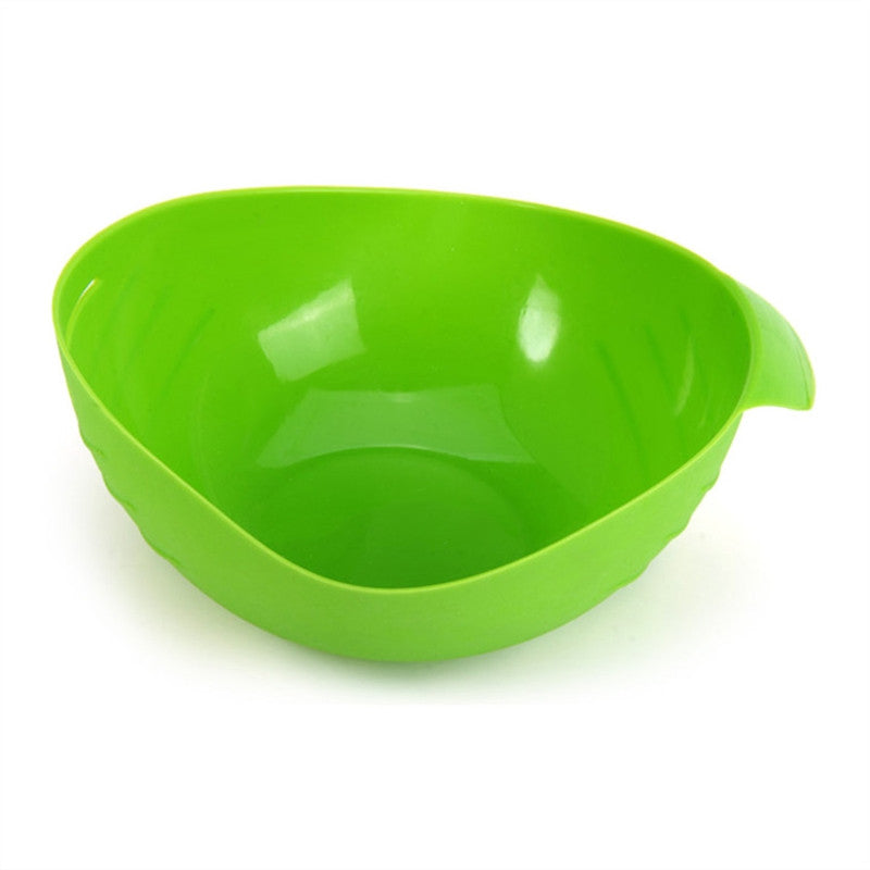 Steamed Fish Bowl Egg Bowl Kitchen Cooking Tools (Green)