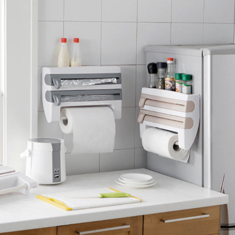 Useful Abs Kitchen Roll Holder - Storage Holders & Racks