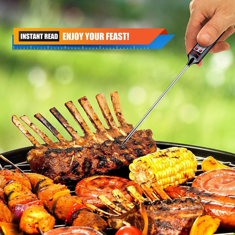 Meat Thermometer With Super Long Probe For Kitchen Cooking Bbq