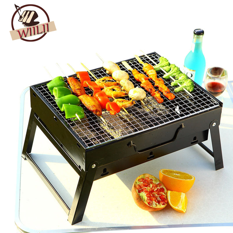 Portable Household Charcoal Grills For Camping Campfire Bbq Tools - Charcoal Grills