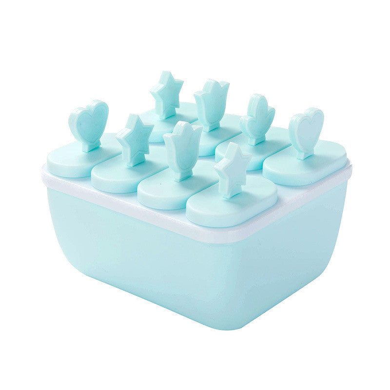 Ice Pop Makers Popsicle Molds Set - Blue