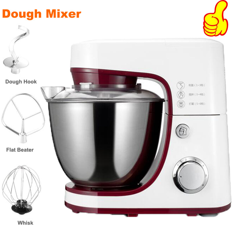 Electric Bread Dough Mixer Eggs Blender 4.2L
