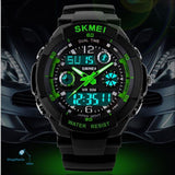 2018 Men Quartz Digital Watch Men Sports Watches Relogio Masculino Skmei S Shock Relojes Led Military Waterproof Wristwatches - Shopmaniaa