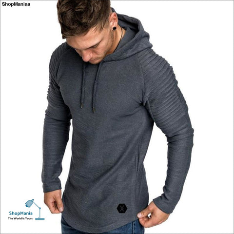 2018 New Mens Hoodies Brand Solid Color Sweatshirts Fashion Male Bamboo Fiber Hoodie Autumn Winter Hoodie Mens Long-sleeved
