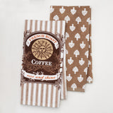 "Food Network™ French Bistro ""Coffee"" Kitchen Towel 2-pack"