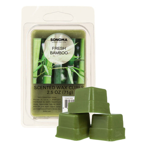 SONOMA Goods for Life™ Fresh Bamboo Wax Melt 6-piece Set