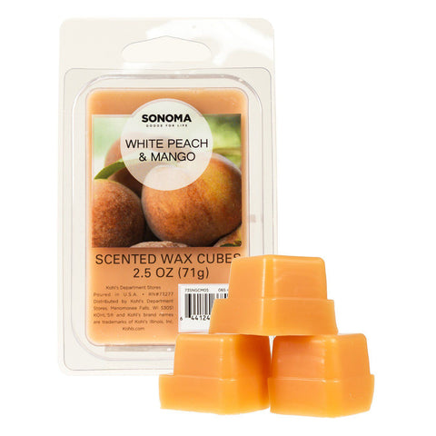 SONOMA Goods for Life™ White Peach & Mango Wax Melt 6-piece Set