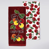 Food Network™ Red Tomato Kitchen Towel 2-pack