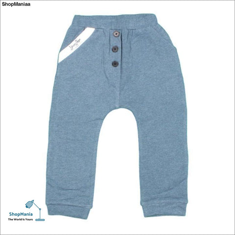Baby and Toddler Boy's Cotton Lounge Pants - Ocean