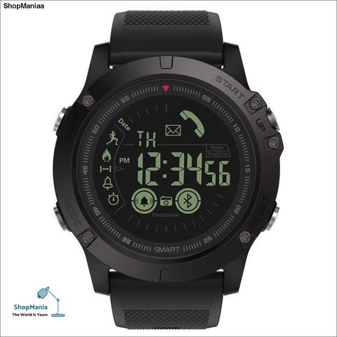 Bluetooth Sport Watches 33-month Standby Time Smartwatch 24h All-Weather Monitor Smart Watch For IOS Android Samsung Smartphones