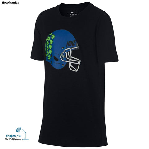Boys 8-20 Nike Helmet Stickers Tee