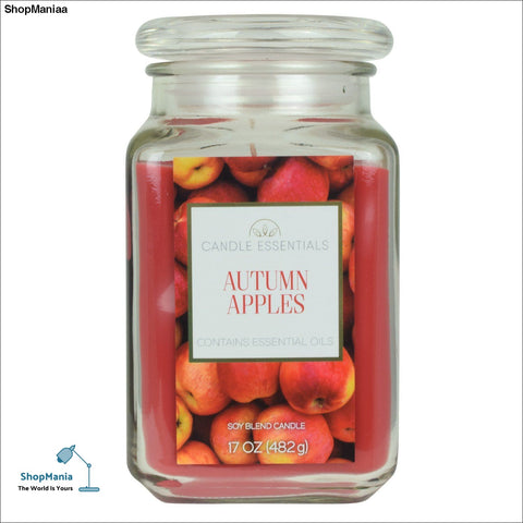 Candle Essentials Autumn Apples 17-oz. Candle Jar