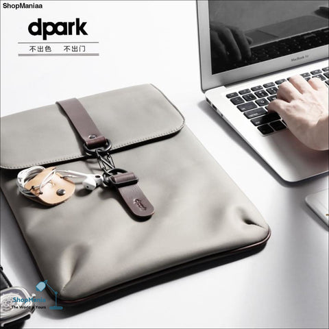 D-park Waterproof Laptop Cases Mens Notebook Inner Bag Laptop Cover Pouch For 12 13 14 Inch Laptop Carrying Bags