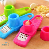 Demarkt Kitchen Tools Grater Cocina Cooking Tools Multi-functional Grinding the Garlic Ginger - Red / 14 * 4.5 * 4 (cm) - ShopManiaa