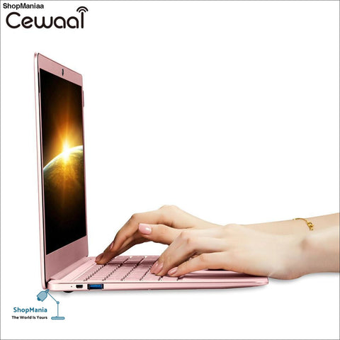 Exquisite 14.1 Inch Ultrathin Laptop PC Windows 10 Quad-core 6+64 GB 1920*1080 IPS Screen Bluetooth 4.1 Notebook