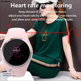 Fitness Smart Watch Women Running Heart Rate Monitor Blood Pressure Bluetooth Pedometer Touch Intelligent Sports Watch For Woman -