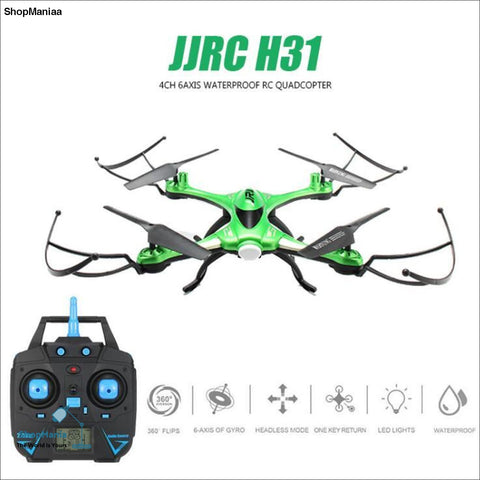 JJRC H31 Waterproof Anti-crash 2.4G 4CH 6Axis Quadcopter Headless Mode LED RC Drone Toy Super Combo RTF VS H37 Syma X5C