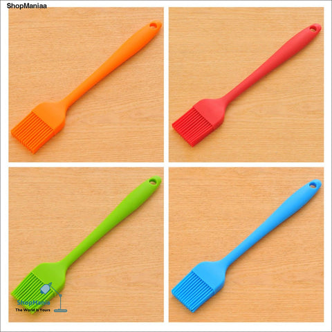 Kitchen Integrated Silicone Barbecue Pastry Brush