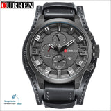 Luxury Brand CURREN Mens Watches Military Sports Men Watch Quartz Date Clock Casual Leather Wrist Watch Relogio Masculino 8225 - gray gray -