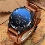 Luxury Brand CURREN Mens Watches Military Sports Men Watch Quartz Date Clock Casual Leather Wrist Watch Relogio Masculino 8225 - ShopManiaa