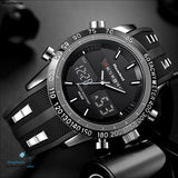 Luxury Brand Watches Men Sports Watches Waterproof Led Digital Quartz Men Military Wrist Watch Clock Male Relogio Masculino 2017 -