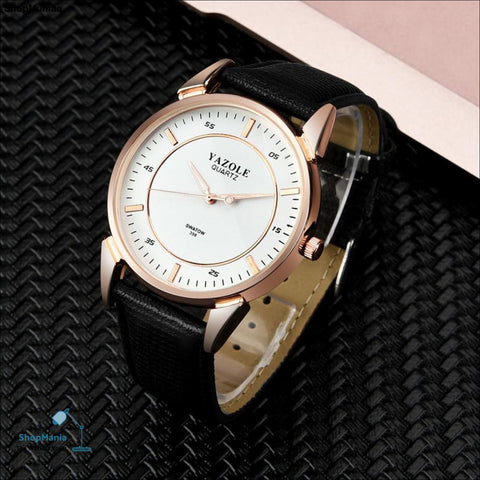 Men's Watch Fashion Luxury Men's Watch Stainless steel Leather Band Analog Quartz Wrist Watch  drop shipping            2018JUL9