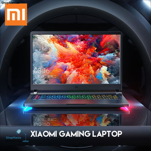 Original Xiaomi Mi Gaming Laptop Windows 10 Intel Core i7 - 8750H 16GB RAM 128GB SSD 1TB HDD HDMI Notebook Type -C Bluetooth