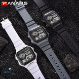 PANARS 2018 New Watches Men Top Luxury Fitness LED Digital Mens Watch Sports G Style Shock Waterproof Vibrator Wrist Watches - ShopManiaa