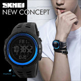 Skmei Luxury Brand Mens Sports Watches Dive 50M Digital Led Military Watch Men Fashion Casual Electronics Wristwatches Relojes - Shopmaniaa