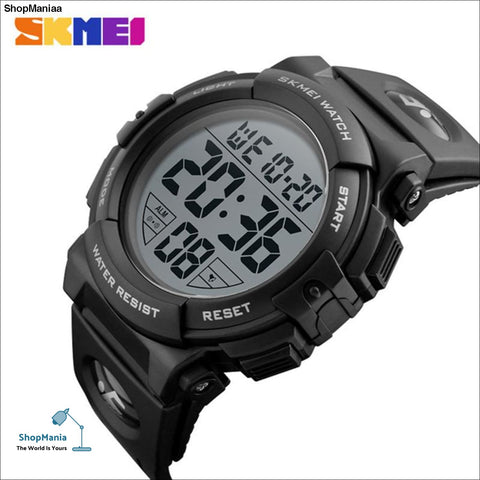 SKMEI Men Watch 2019 Top Luxury Brand Sport Watch Electronic Digital Male Wrist Clock Man 50M Waterproof Men's Watches 1258