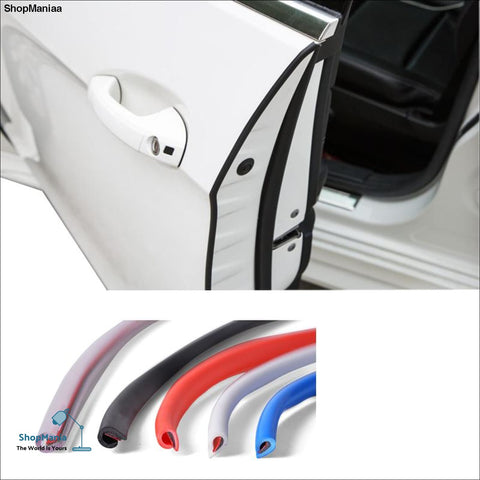 Universal Car Door Scratch Protector/Edge Guard Cover Crash Bar Anti Collision Bumper Protection Sticker Strip Auto Styling