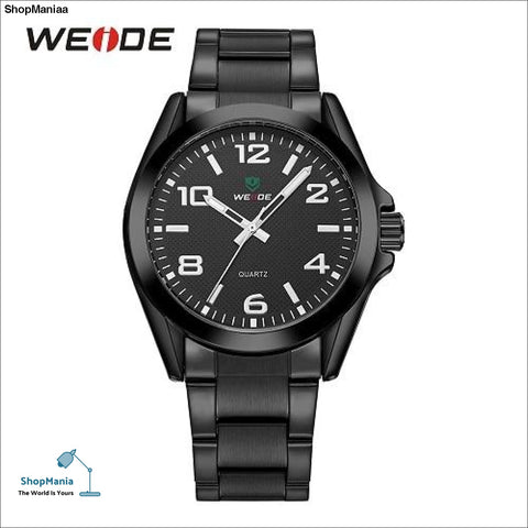 e9bbb563c99 WEIDE Men Sports Watch Business Casual Analog Date Quartz Stainless Steel  Strap Wrist watches Relogio Masculino