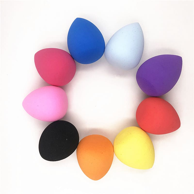 1pcs Cosmetic Puff Powder Puff Smooth Womens Makeup Foundation Sponge Beauty to Make Up Tools Accessories Water-drop Shape