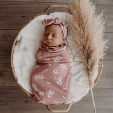 Load image into Gallery viewer, Daisy | Snuggle Swaddle & Topknot Set