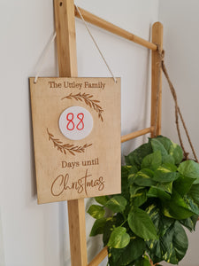Christmas Countdown (Wreath)