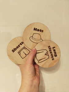 Drawer tags