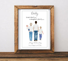 Load image into Gallery viewer, Fathers Day Portrait Print