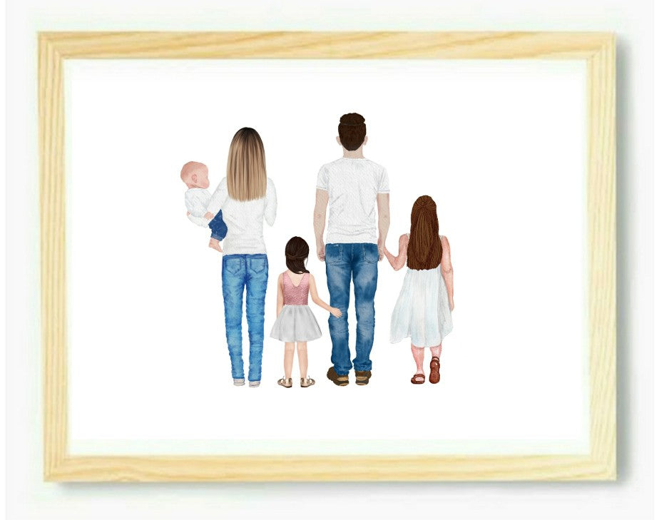 Family Portrait Print
