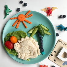 Load image into Gallery viewer, Lunch punch sandwich cutter- dinosaur