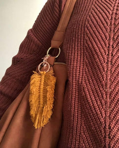Feather Bag Charm