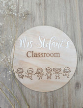 Load image into Gallery viewer, Personalised Classroom Sign