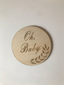"""Oh Baby"" disc"