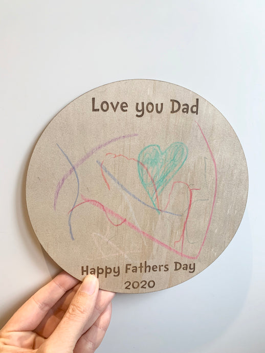 Love you Dad discs