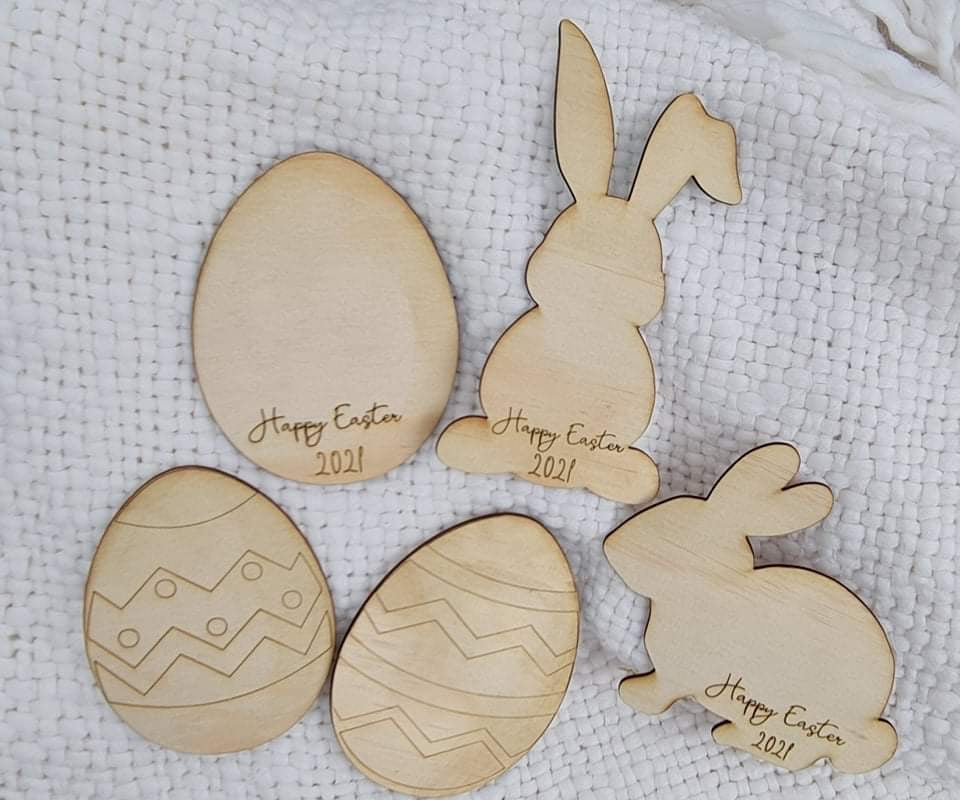 Decorate your own Easter set