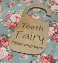 Load image into Gallery viewer, Tooth Fairy door hanger