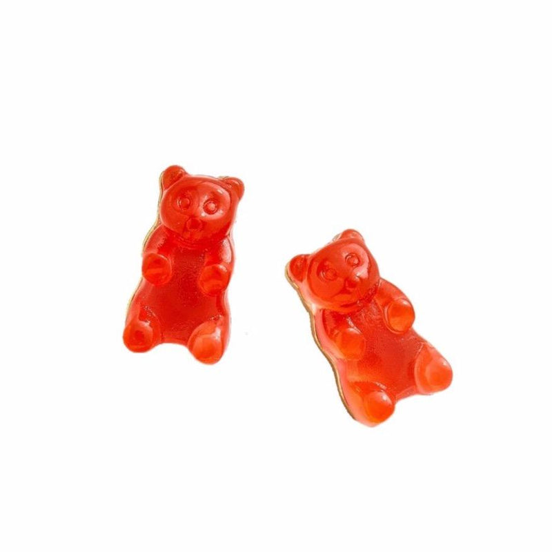 Gummy Bear Earrings-Orange Citrus