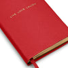 Блокнот Live Love Laugh Red Notebook