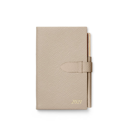Ежедневник 2021 Panama Diary With Gilt Pencil Sandstone